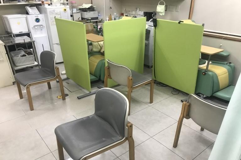 処置室・臨時待合室