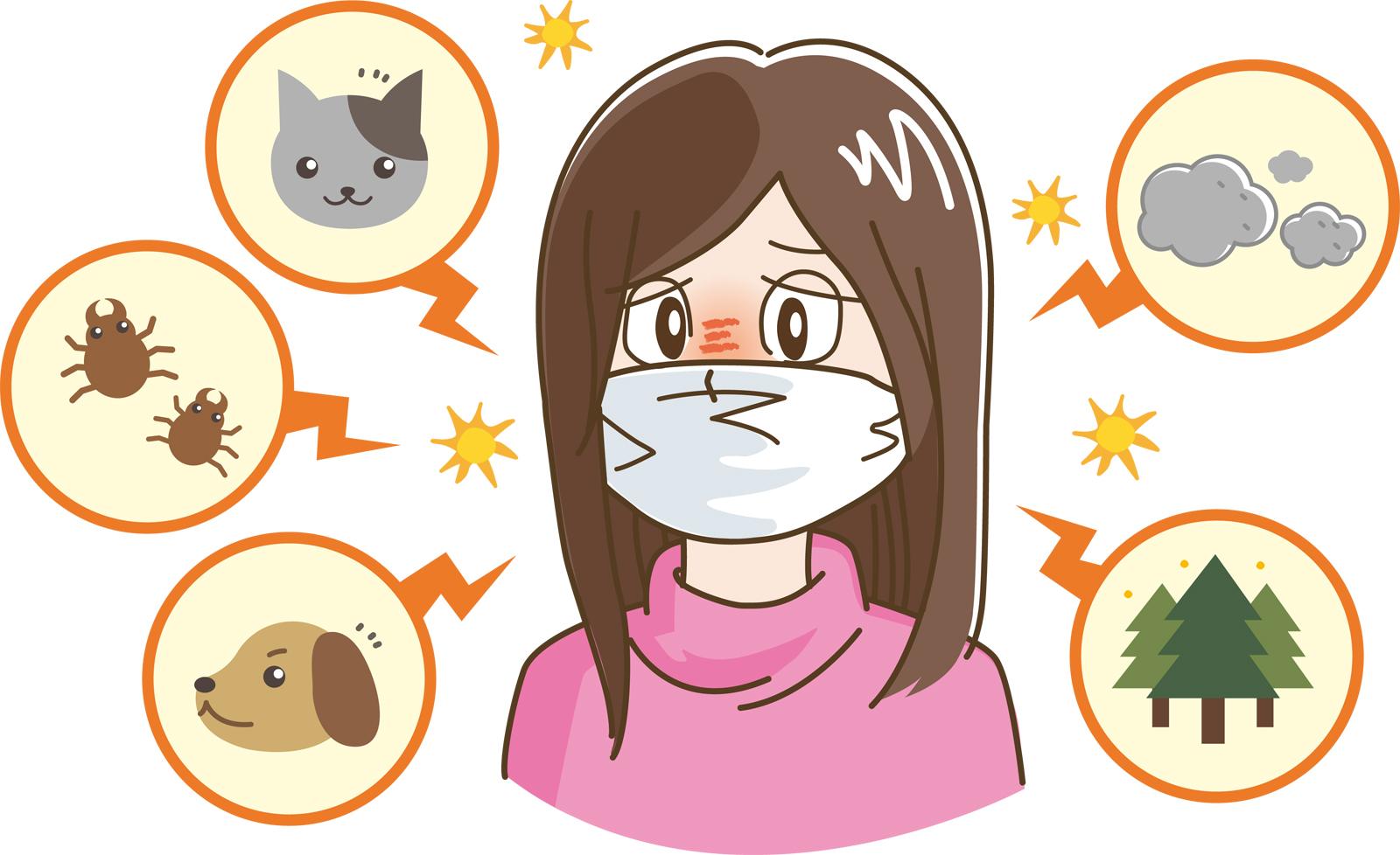 アレルゲン:アレルギーの原因