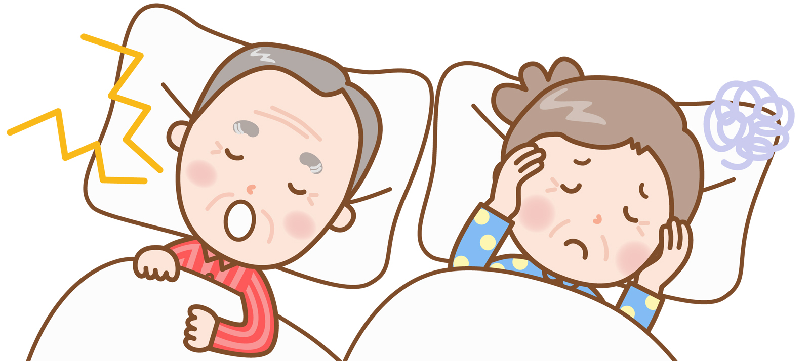 睡眠時無呼吸の症状