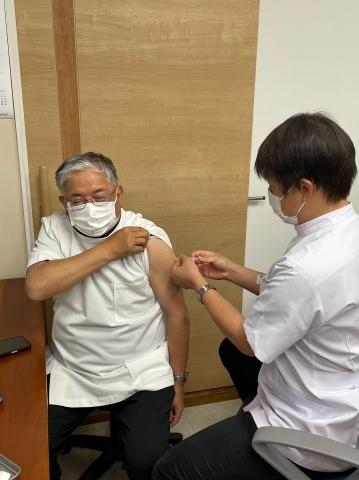 加藤先生ワクチン接種