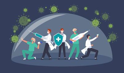 医療従事者向けコロナワクチン接種案内